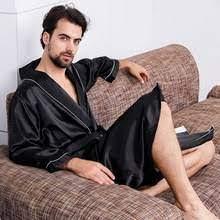 Men Silk Dressing Gowns